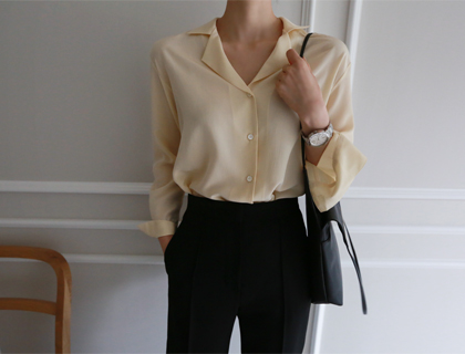 More silk blouse