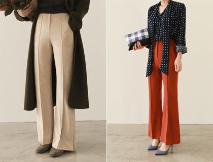 Melinda slit pants (50% sale)