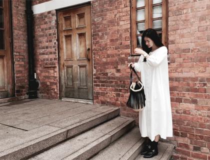 Sadari linen dress (50% sale)
