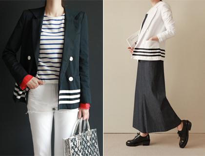 Sailor-collar jacket (50% sale)