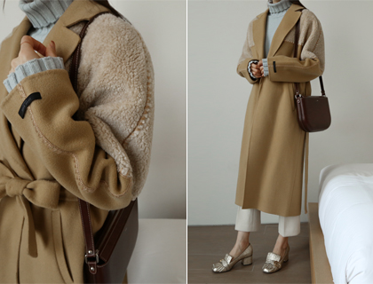 Handmade mustang coat