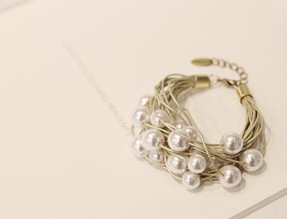 Bouquet pearl bracelet