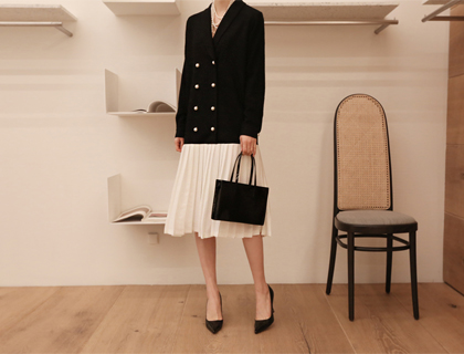 Jinju pleats dress