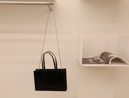 Patent square bag