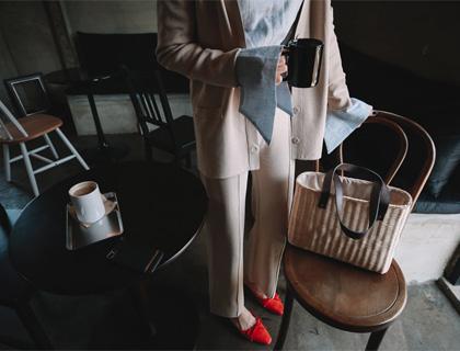 Roe knit pants
