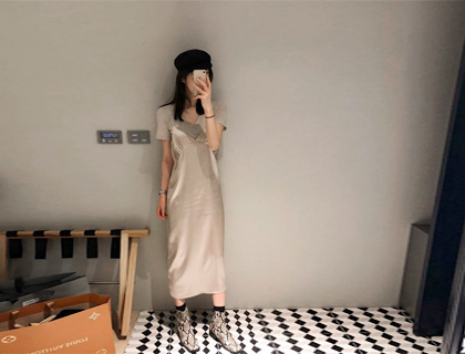 Wear slip dress