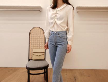 Miyu shirring blouse