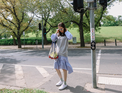 Springtime mtm dress