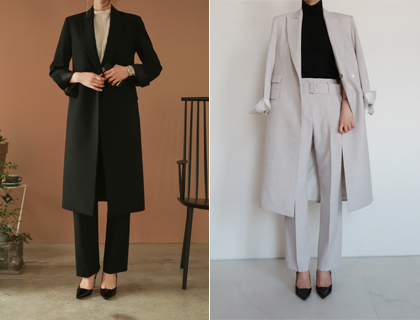 Formal long coat