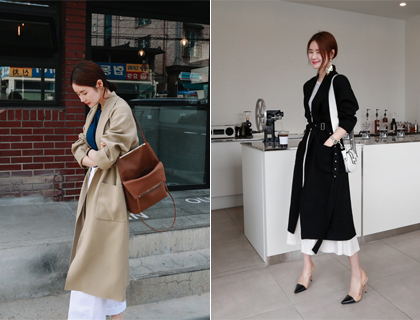 Somo belt coat