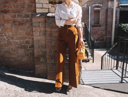 Jamie wide pants