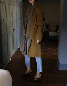 Longcollar hand coat