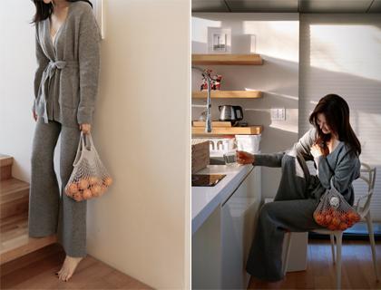 Basic golji knit pants