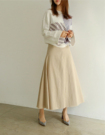 Hul cotton skirt
