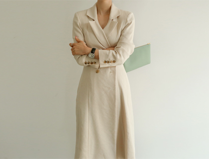 Newfeminine double coat