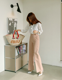 Easy cotton pants