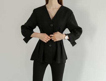 Harper linen jacket