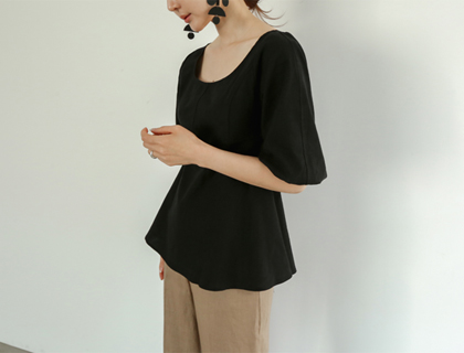 Baby line blouse