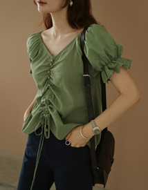 Kelly string blouse