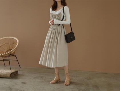 Anne suspender dress