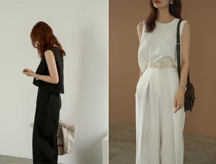 Yeca linen blouse