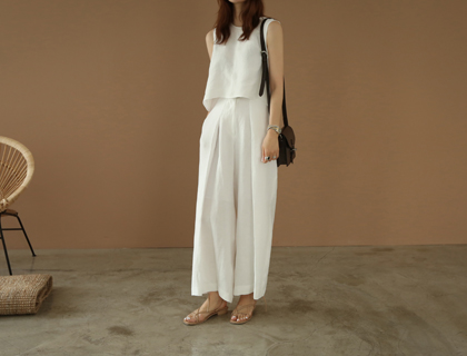 Yeca linen pants
