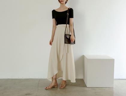 Morning wrap skirt