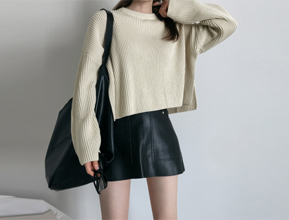 Cotton short knit