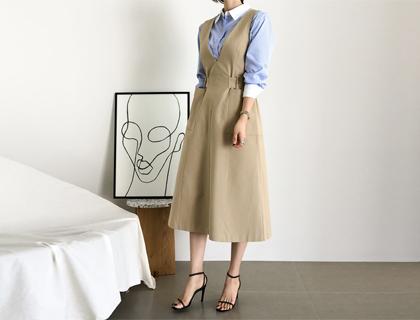 Reese belt dress