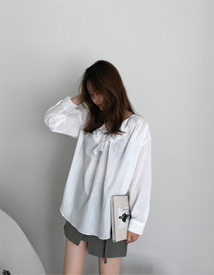 Lizzy frill blouse