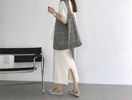 Max knit skirt