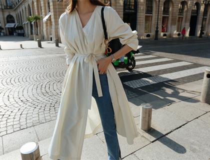 Lamella long dress