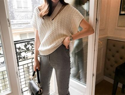 Raf knit vest