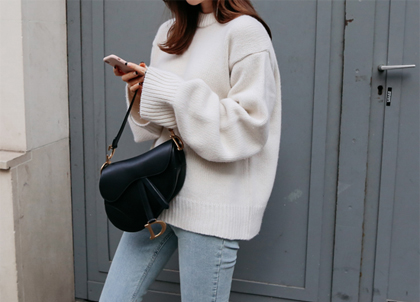 Seller boxy knit