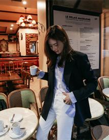 Mentel stripe jacket