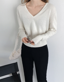 Roana v-neck knit