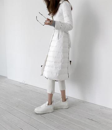 Light down coat