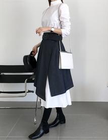 Taylor belt skirt