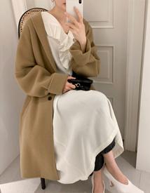 Meridien boxy coat