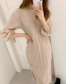 Now wrinkle dress