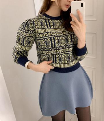 Aztec knit