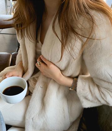 High-qual mink coat