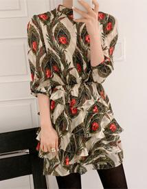 Rosemary cancan dress