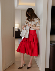Two berrel skirt