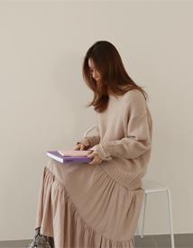 Marie mohair knit