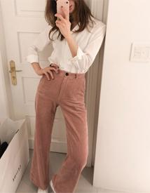 Wang corduroy pants