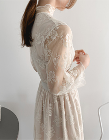 Lotan lace dress