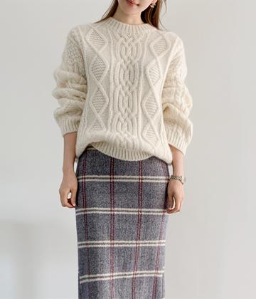 Kiki cable knit