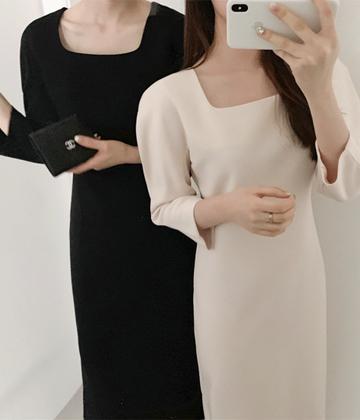 Graceful line dress