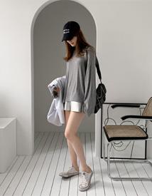 Silver Boxer shorts